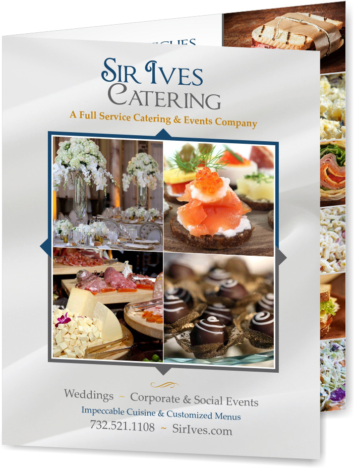 Sir Ives Menu Brochure